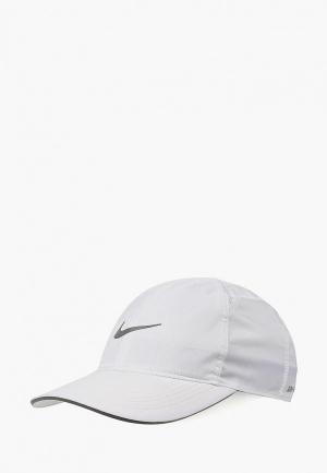 Бейсболка Nike FEATHERLIGHT RUNNING CAP. Цвет: белый