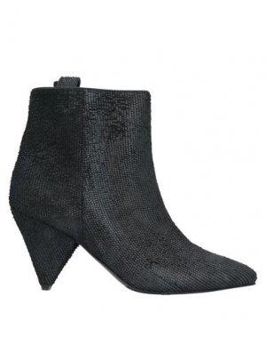 Полусапоги и высокие ботинки LORENA PAGGI. Цвет: черный
