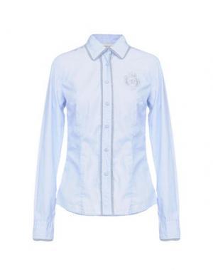 Pубашка COAST WEBER & AHAUS. Цвет: лазурный