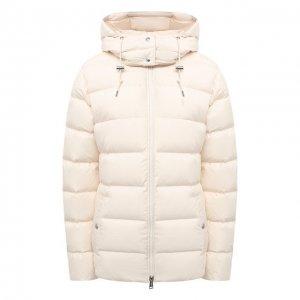 Пуховая куртка Polo Ralph Lauren. Цвет: бежевый