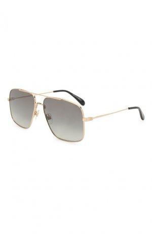 Солнцезащитные очки Givenchy. Цвет: серый
