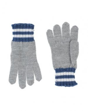 Перчатки DOLCE & GABBANA. Цвет: серый