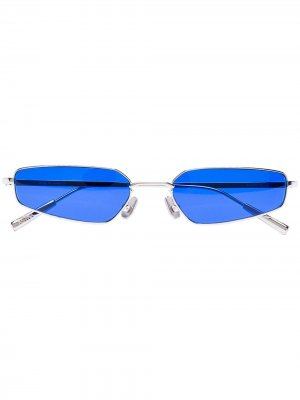 Солнцезащитные очки Arista в узкой оправе AMBUSH. Цвет: синий