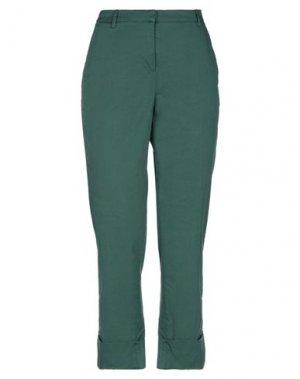 Повседневные брюки KI6? WHO ARE YOU?. Цвет: темно-зеленый