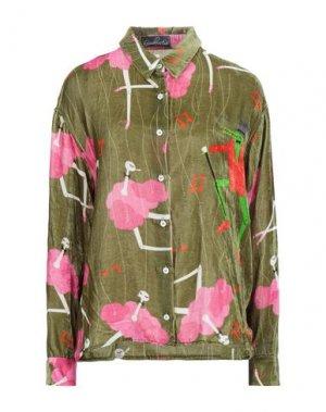 Pубашка GIULIA ROSITANI. Цвет: зеленый-милитари