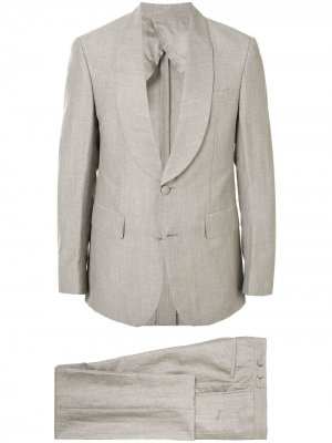 Однобортный пиджак Cerruti 1881. Цвет: серый