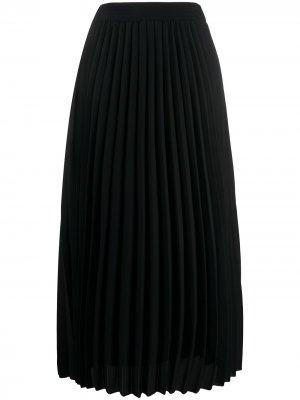 Плиссированная юбка By Malene Birger. Цвет: черный