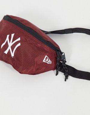 Розовая сумка-кошелек на пояс MLB NY-Розовый New Era