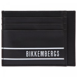Визитница Bikkembergs. Цвет: чёрный
