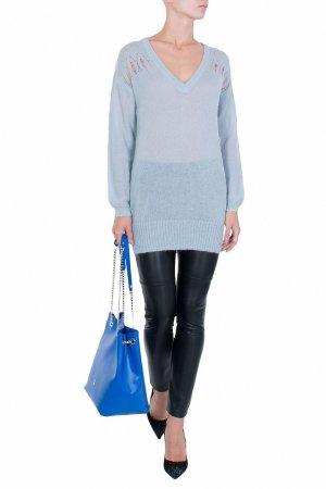 Голубой пуловер Patrizia Pepe