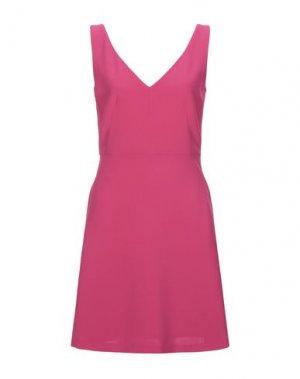 Короткое платье COMPAGNIA ITALIANA. Цвет: фуксия