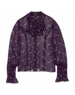 Pубашка ANNA SUI. Цвет: розовато-лиловый