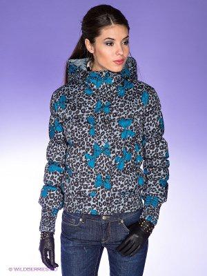 Куртка Killah. Цвет: синий, серый