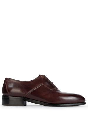 Кожаные туфли-оксфорды ARTIOLI