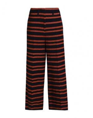 Повседневные брюки BY MALENE BIRGER. Цвет: коричневый