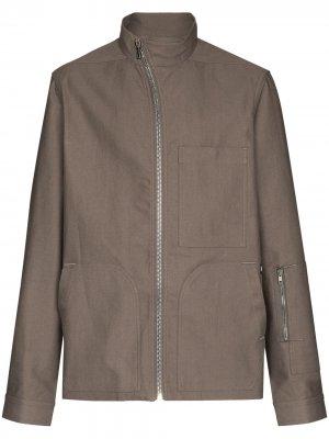 Куртка Apostle Rick Owens DRKSHDW. Цвет: серый