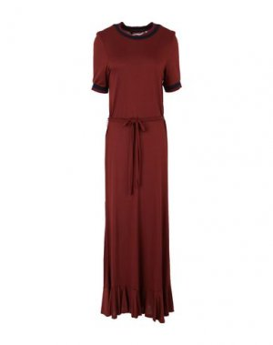 Длинное платье NÜMPH. Цвет: какао
