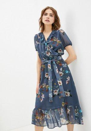 Платье Electrastyle. Цвет: синий