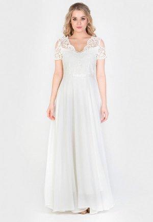Платье Filigrana. Цвет: белый
