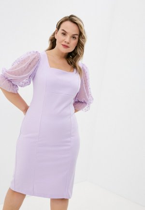 Платье Forus. Цвет: фиолетовый