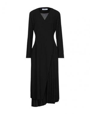 Платье миди EMMA & GAIA. Цвет: черный