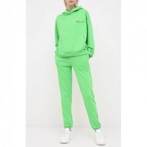 Спортивный костюм Seven Lab. Цвет: зелёный