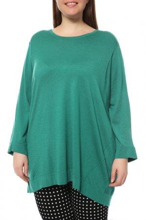 Пуловер Marina Rinaldi. Цвет: зеленый