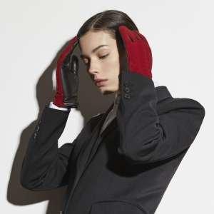 Перчатки Ekonika EN33637 red/black-20Z. Цвет: красный/черный