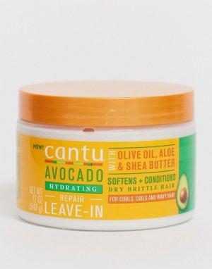 Крем-кондиционер для волос с экстрактом авокадо , 340 г-Бесцветный Cantu