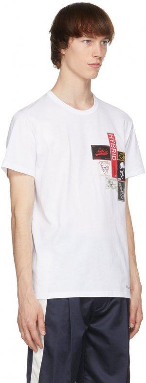 White Labels T-Shirt Alexander McQueen. Цвет: 0900white/m