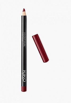 Карандаш для глаз Kiko Milano каял внутреннего контура век COLOUR KAJAL оттенок 15, Posh Burgundy, 1.05 г. Цвет: бордовый