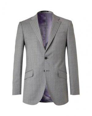 Пиджак RICHARD JAMES. Цвет: серый