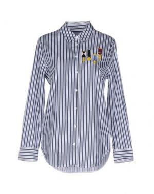 Pубашка EQUIPMENT. Цвет: темно-синий