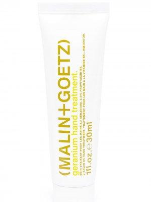 Крем для рук Geranium MALIN+GOETZ. Цвет: белый