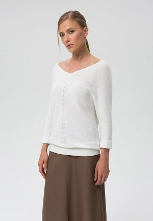 Пуловер Ostin O'stin. Цвет: белый