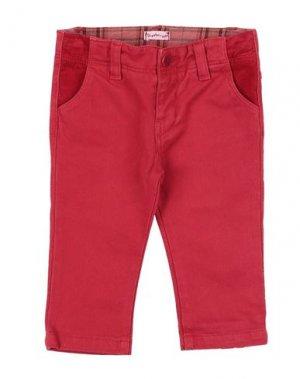 Повседневные брюки I GIANBURRASCA. Цвет: красный