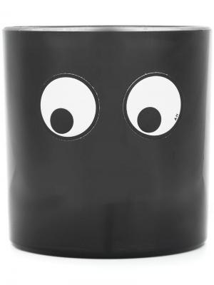 Большая свеча Coffee Anya Hindmarch. Цвет: черный