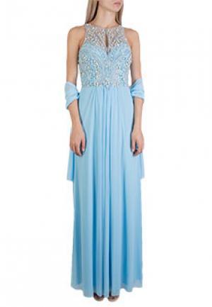 Платье MIKAEL. Цвет: голубой