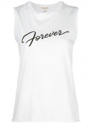 Топ Forever без рукавов Nili Lotan. Цвет: белый