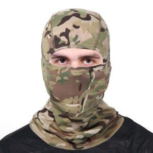 Мужской камуфляжный шарф SHEIN. Цвет: многоцветный