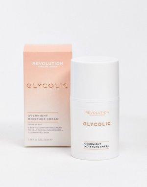 Ночной крем с гликолевой кислотой для сияния кожи Skincare-Бесцветный Revolution