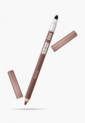 Карандаш для губ Pupa TRUE LIPS т.005 песочная охра , 1.2 г.. Цвет: коричневый