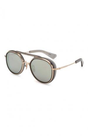 Солнцезащитные очки Dita. Цвет: серый