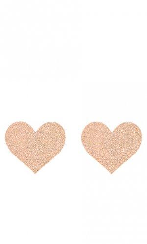 Стикини heart nippies Bristols6. Цвет: розовый