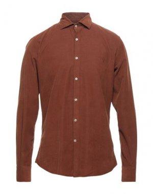 Pубашка BROOKSFIELD. Цвет: коричневый