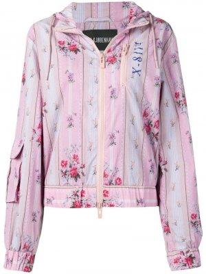 Куртка-бомбер с цветочным принтом Han Kjøbenhavn
