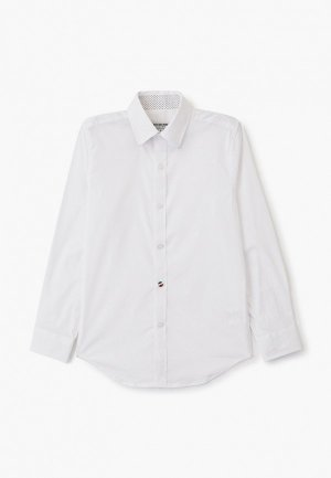 Рубашка Alessandro Borelli Milano. Цвет: белый