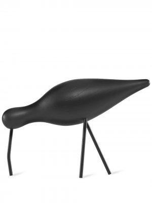 Декоративная фигурка Shorebird L Normann Copenhagen. Цвет: черный