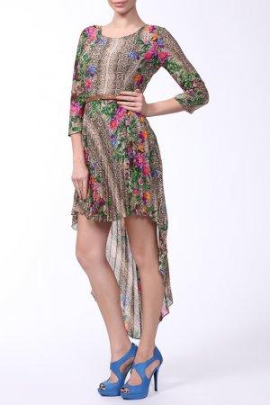 Платье Cliche. Цвет: бежевый