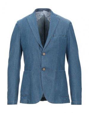 Пиджак DANDI. Цвет: синий